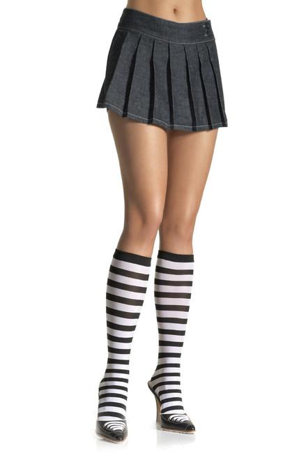 Striped Knee Highs Sock