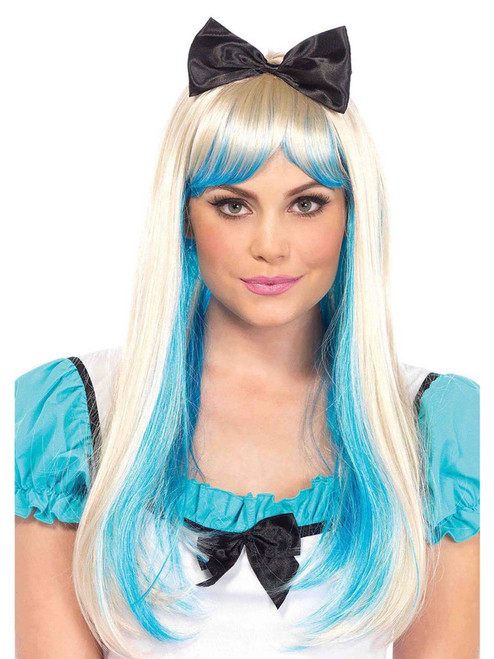 Womens Alice Wig With Bow