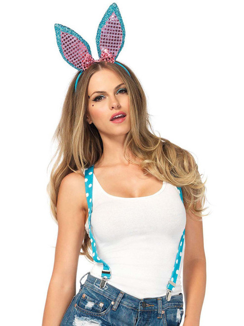 Sparkle Bunny Costume Kit Complete Roleplay Accessory Set