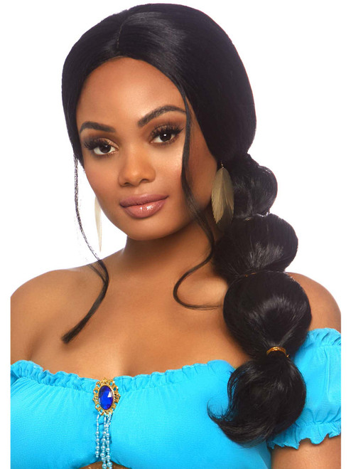 Womens Desert Princess Braided Long Wig