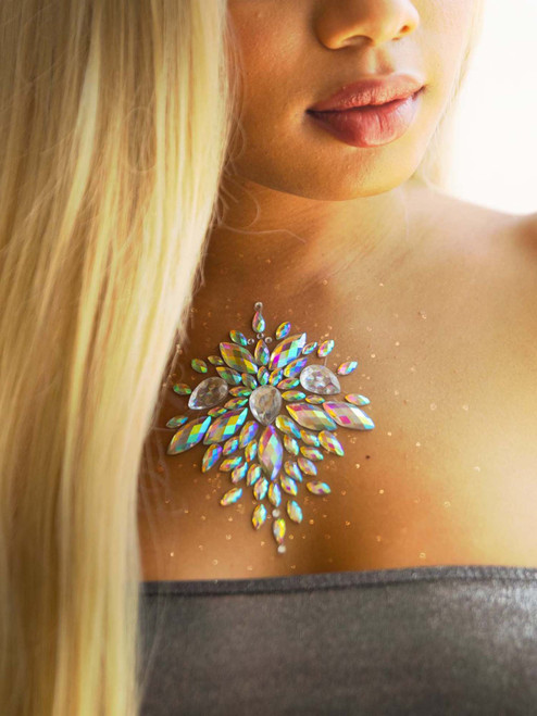Celestial Adhesive Body Jewels Stickers Festival Rave Body Bling Glitter Gems