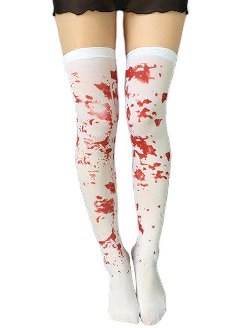 Zombie Blood Thigh Highs