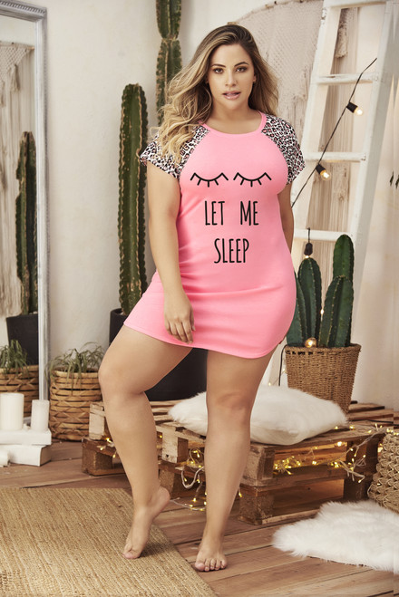 Let Me Sleep Sleepshirt Set