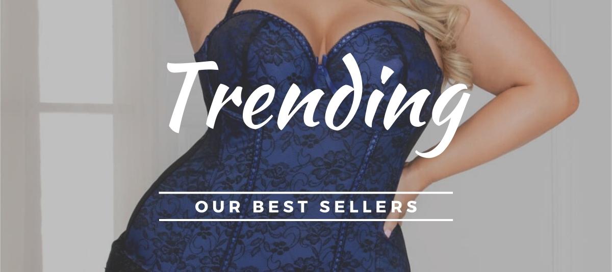 Trending best selling lingerie styles