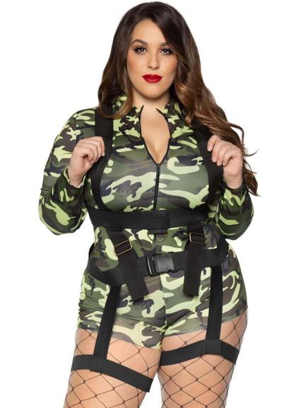 Goin' Commando Military Costume