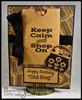 Bar Code Background Builder Cling Stamp