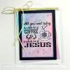 Simply Said:  Coffee & Jesus 3 x 4 Stamp Set