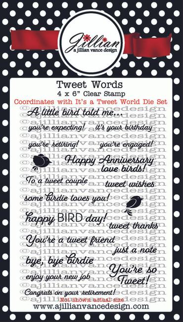 Tweet Words Stamp Set