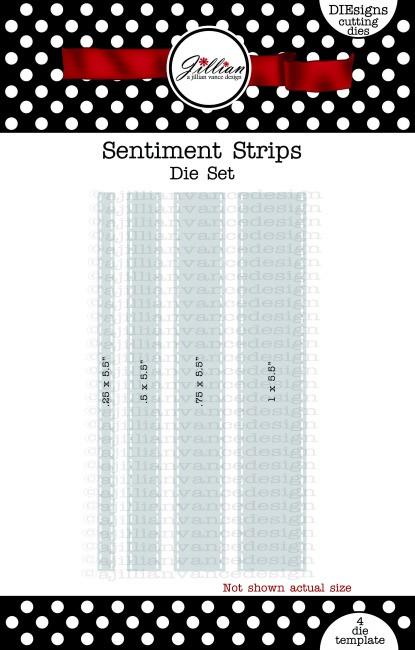 Sentiment Strips Die Set