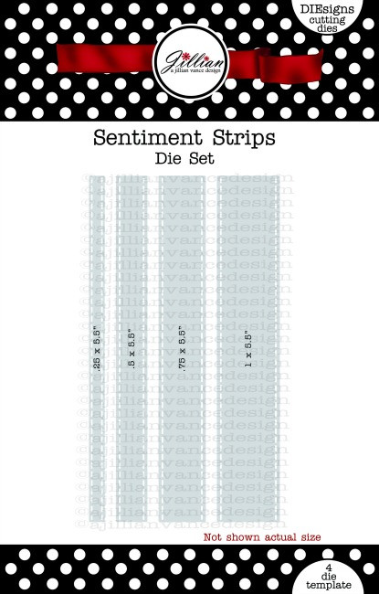 Sentiment Strips 2.0 Die Set