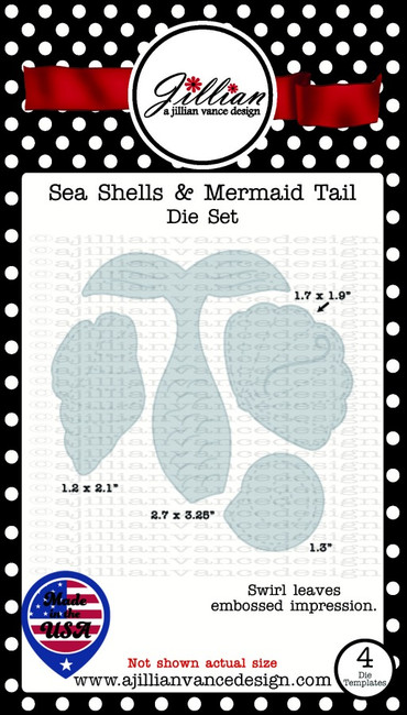 Sea Shells & Mermaid Tail Die Set