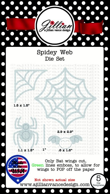 Spidey Web Die Set