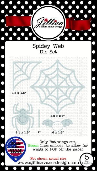 Spidey Web Die Set