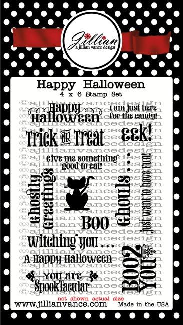 Happy Halloween Stamp Set