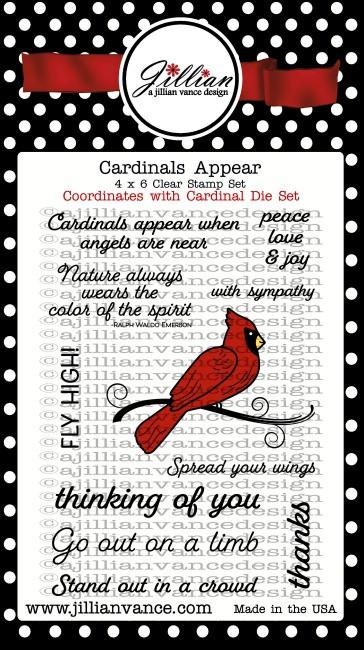 Cardinals Appear Stamp Set
