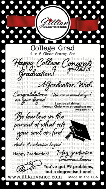 College Grad Stamp Set