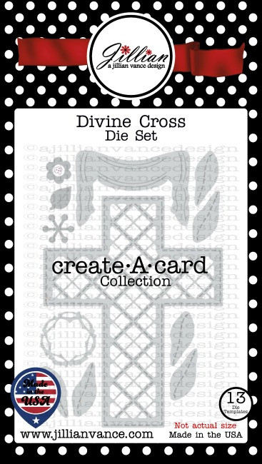 Divine Cross Create A Card Die Set