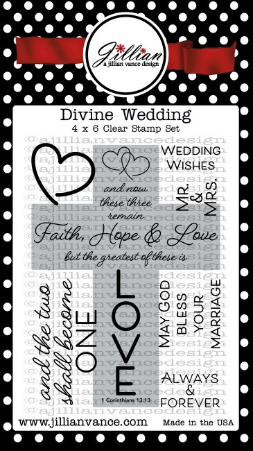 Divine Wedding Stamp Set