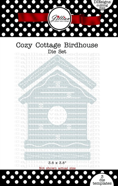 Cozy Cottage Birdhouse Die Set