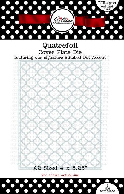 Quatrefoil Cover Plate Die