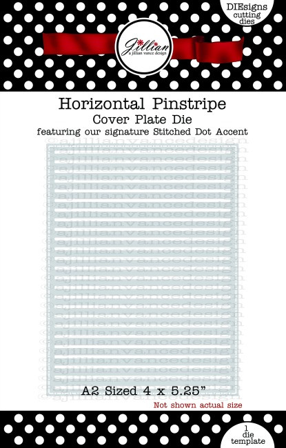 Horizontal Pinstripe Cover Plate
