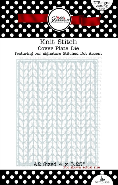 Knit Stitch Cover Plate