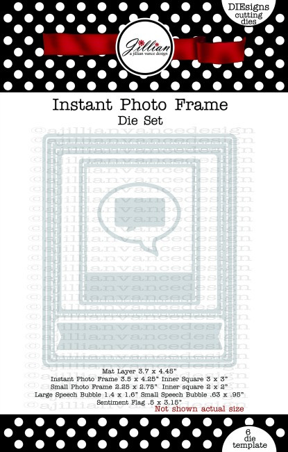 Instant Photo Frame Die Set