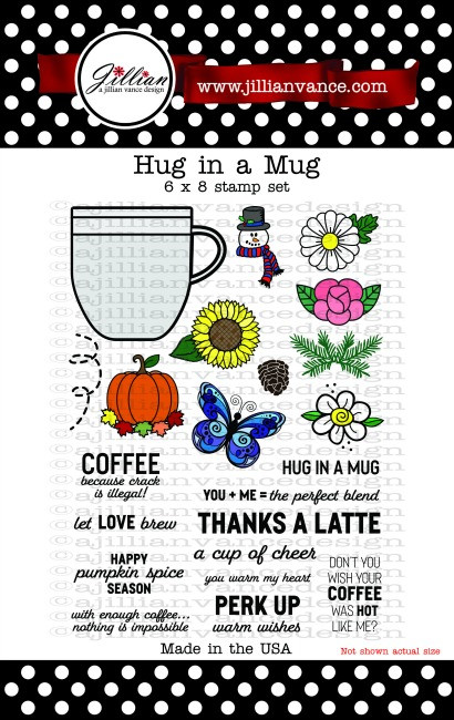 Hug in a Mug 6 x 8 Stamp Set