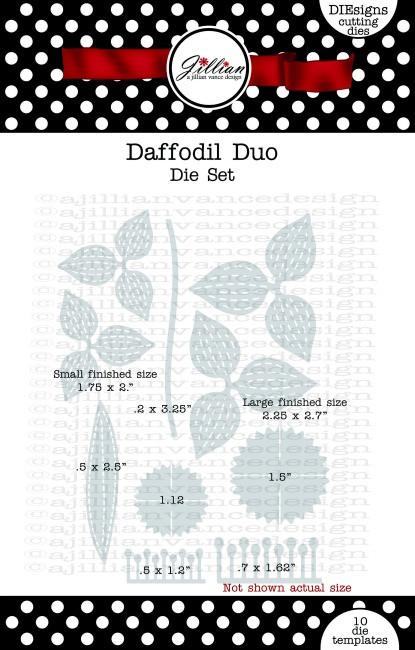 Daffodil Duo Die Set