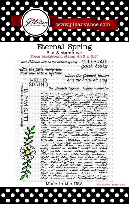 Eternal Spring 6 x 8 Stamp Set