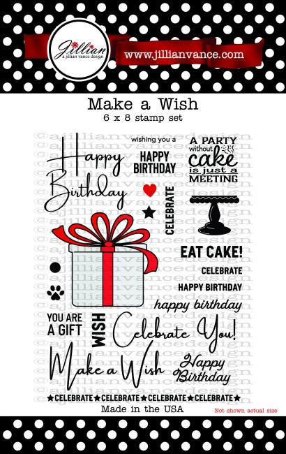 Make a Wish 6 x 8 Stamp Set