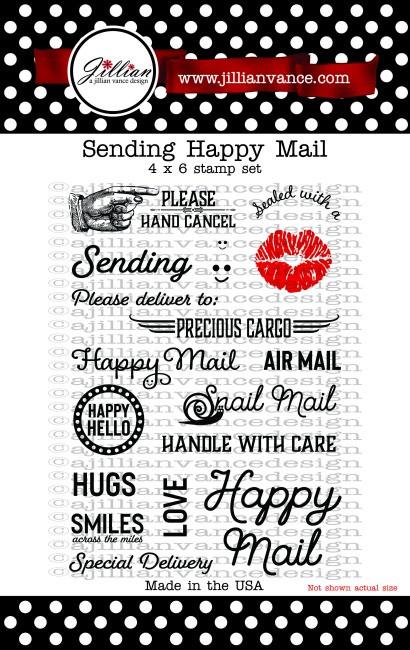 Sending Happy Mail Stamp Set