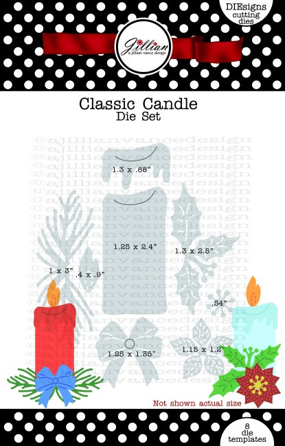 Classic Candle Die Set