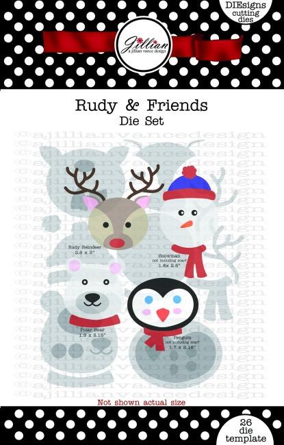 Rudy and Friends Die Set