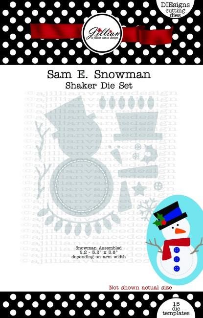 Sam E. Snowman Die Set