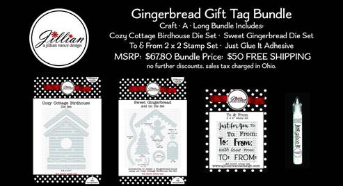 Gingerbread Gift Tag Bundle