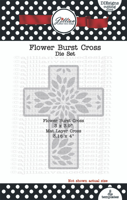 Flower Burst Cross Die Set