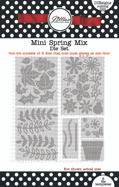 Mini Spring Mix Die Set