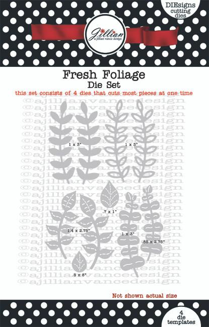 Fresh Foliage Die Set