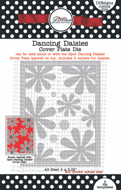 Dancing Daisies Cover Plate Die