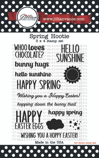 Spring Hootie Stamp Set