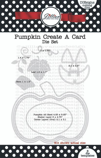 Pumpkin Create A Card Die Set