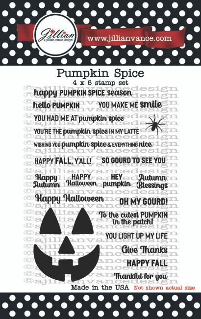 Pumpkin Spice Stamp Set