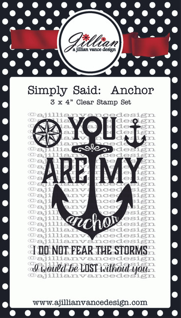Anchor 3 x 4 Stamp Set