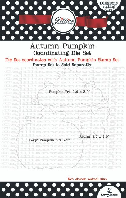 Autumn Pumpkin Coordinating Die Set