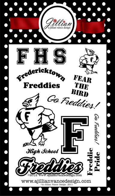 Fredericktown Freddies Stamp Set