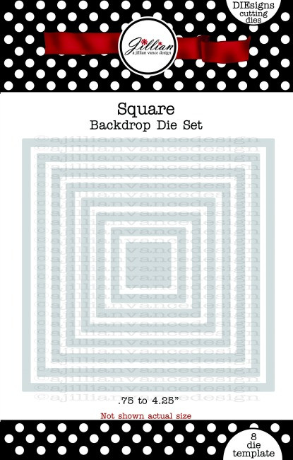 Square Backdrop Die Set