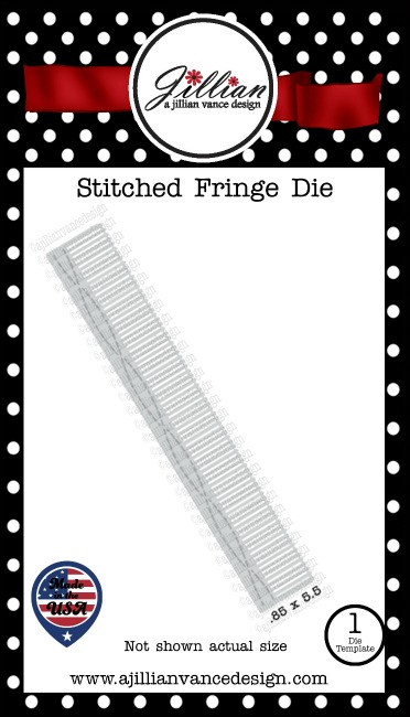 Stitched Fringe Border Die