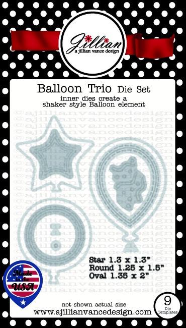 Balloon Trio Die Set