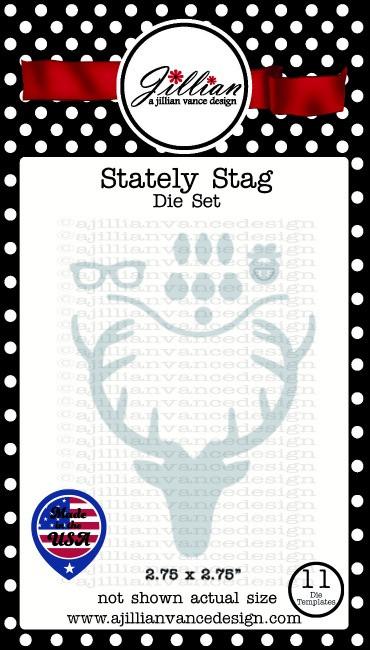 Stately Stag Die Set